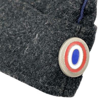 Original WWII Dutch Schalkhaar police side cap