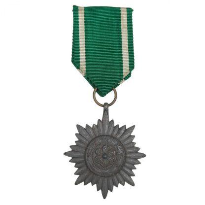 Original WWII German Ostvolker in silver medal 2nd class
