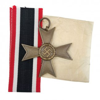Original WWII German War merit Cross without swords – 1 Deschler