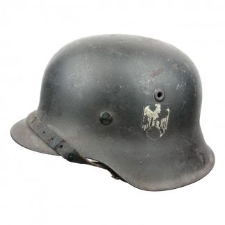Original WWII German WH M42 SD helmet – NS68