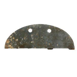 Original WWII German erkennungsmarke 14./Fallschirmjäger ersatz und ausbildungs regiment 3