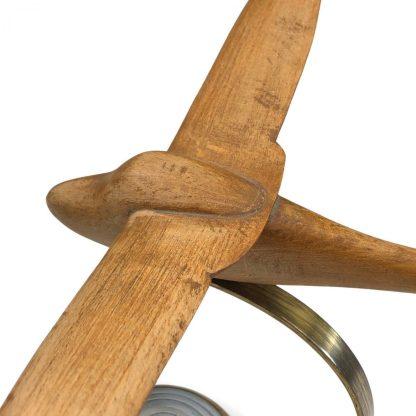 Original WWII German 'Segelflieger' wood carved desk ornament