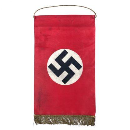 Original WWII German table flag (Dutch made)