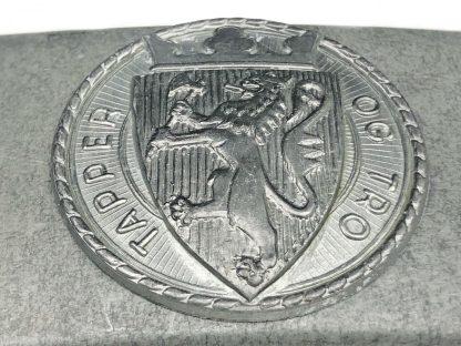 Original WWII Norwegian NS Nasjonal Samling buckle