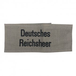 Original WWII German 'Deutsches Reichsheer' armband