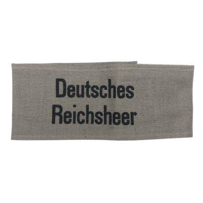 Original WWII German 'Deutsches Reichsheer' armband