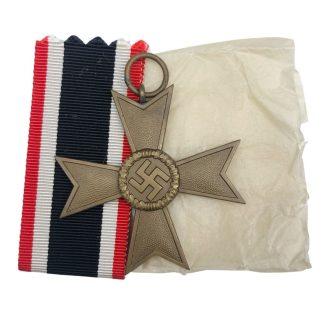 Original WWII German War merit Cross without swords – 1 Deschler