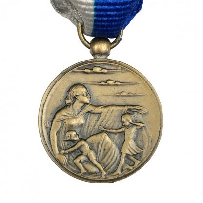 Original WWII Dutch 'Luchtbeschermingsdienst' commemorative medal