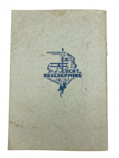 Original Pré 1940 Dutch 'Luchtbescherming' guide booklet