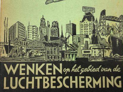 Original WWII Dutch 'Luchtbeschermingsdienst' booklet Rotterdam