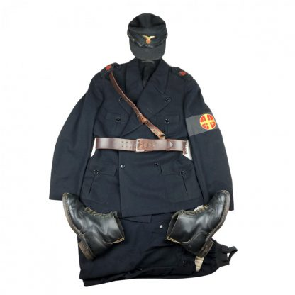 Original WWII Norwegian N.S. Nasjonal Samling 'Rikshird' uniform