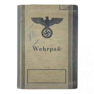 Original WWII German Waffen-SS KIA Wehrpass 8. SS-Kavallerie-Division 'Florian Geyer'
