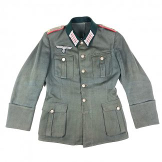 Original WWII German WH artillery officers uniform