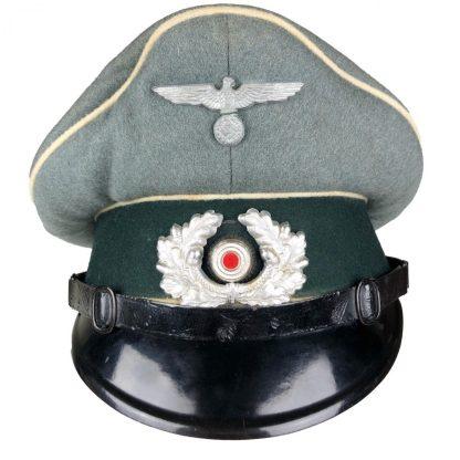 Original WWII German WH infantry EM/NCO Visor cap