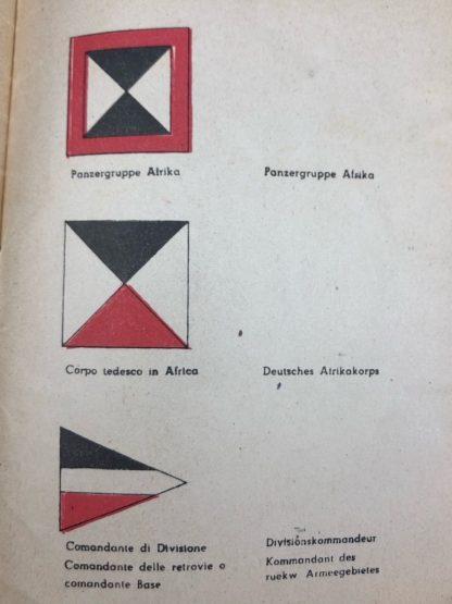 'Kommando der Panzergruppe Afrika' 1941