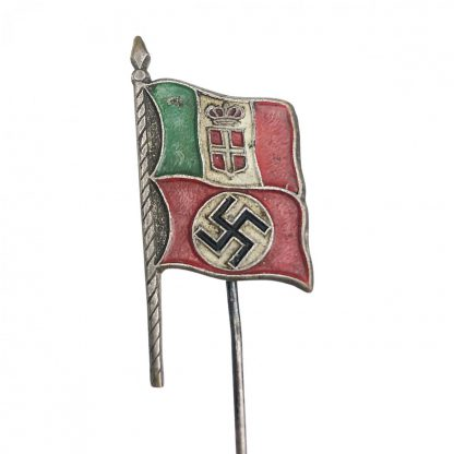 Original WWII German – Italian sympathizers stickpin