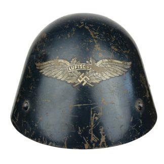 Original WWII Czech VZ32 Luftschutz helmet