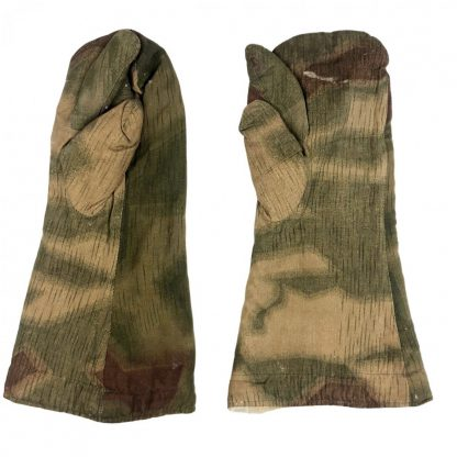 Original WWII German WH/LW Sumpftarn gloves