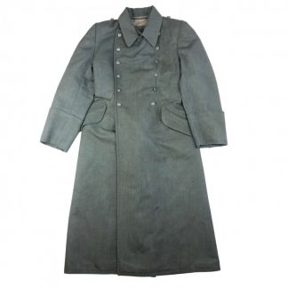 Original WWII German WH/SS overcoat in Italian gabardine cloth