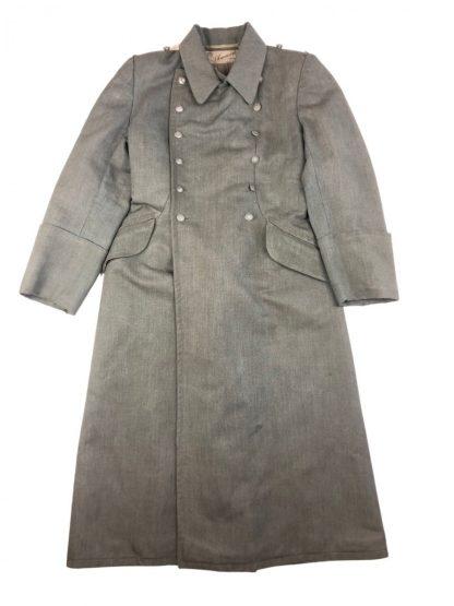 Original WWII German WH/SS overcoat in Italian gabardine cloth