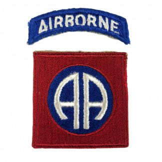 Original WWII US 82nd Airborne patch