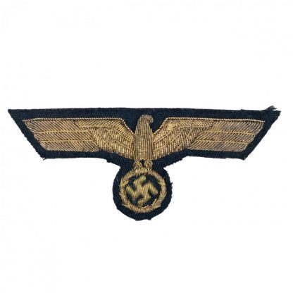 Original WWII German Kriegsmarine officers breast eagle