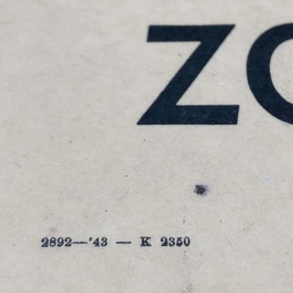 Original WWII Dutch 'Frontzorg' collecting box