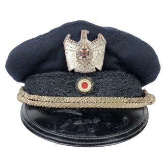 Original WWII German NSKOV visor cap