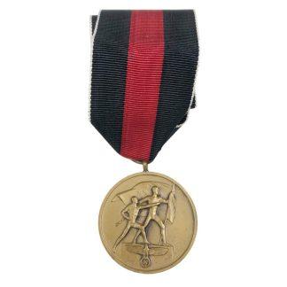 Original WWII German 'Sudetenland' medal