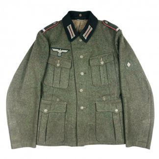 Original WWII German WH M36 Panzer(jäger) uniform