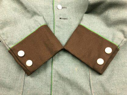 Original WWII German 'Schutzpolizei' meister service tunic