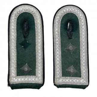Original WWII German WH Hauptfeldwebel shoulder boards – Pionier