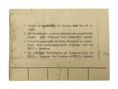Original WWII Dutch 'Forced labour' aircraft builder grouping