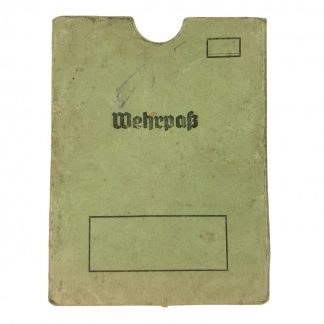 Original WWII German Wehrpass cover