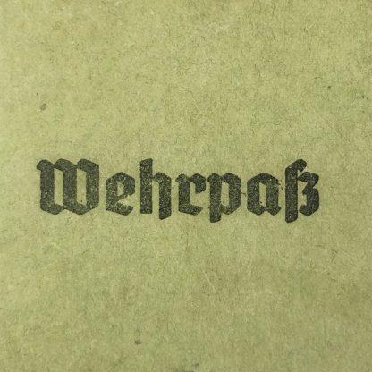 Original WWII German Wehrpass cover