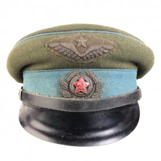 Original WWII Russian Airforce officers visor cap