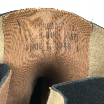 Original WWII US 'Arctic' overshoes 1943