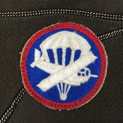 Original WWII US Airborne officers garrison cap