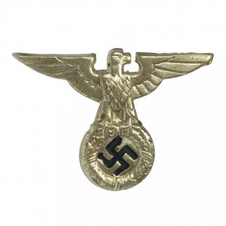 Original WWII German early SS/SA visor cap eagle