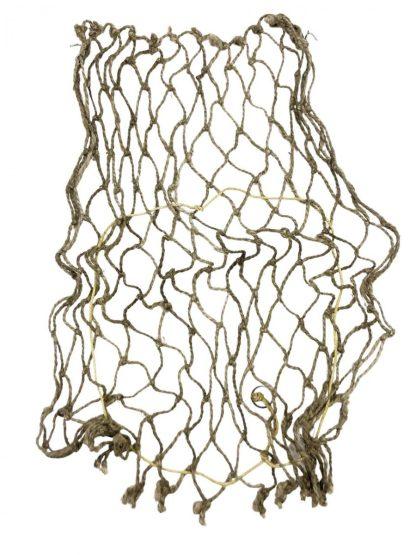 Original WWII German helmet 'Tarnnetz' camouflage netting