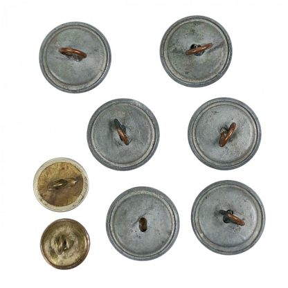 Original WWII Dutch 'Schalkhaar' police buttons