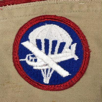 Original WWII US Airborne & Glider 'Artillery' troops garrison cap