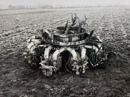 Original WWII German photos of crashed British airplane and KIA pilots