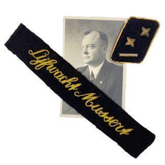 Original WWII Dutch NSB 'Lijfwacht Mussert' grouping