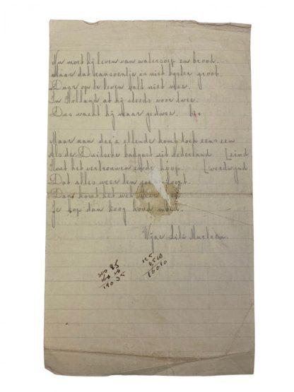 Original WWII Dutch set of Stalag documents