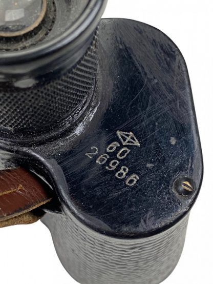 Original WWII Russian binoculars in case and carrying strap 1944