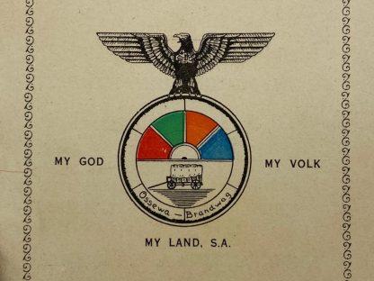 Original WWII South African fascists organization 'Ossewabrandwag' grouping J.H.J. van Rensburg