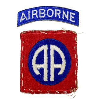 Original WWII US 82nd Airborne patch