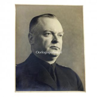 Original WWII Dutch NSB large photo portrait Anton Mussert