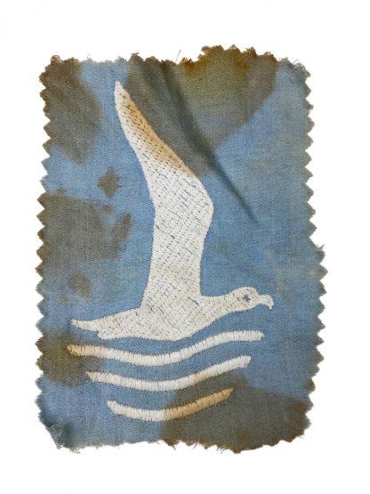 Original WWII Dutch Jeugdstorm girls sportshirt insignia